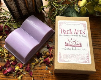 Dark Arts Bar Soap - Book Inspired Gift - Natural Soap