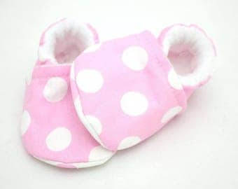 Baby girl shoes, baby shoes girl, soft sole, baby boots, toddler shoes, baby girl shoes, baby moccasins, unique design co spots, baby girl