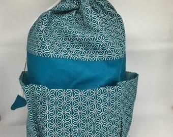 Turquoise Toiletry Kit