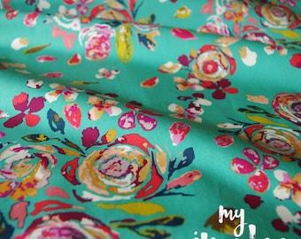 Cotton Fabric - Swifting Flora Boho - Fleet & Flourish Collection