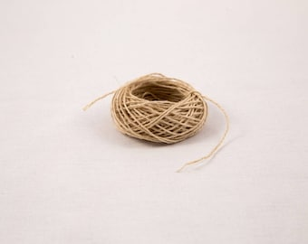 Natural Hemp Yarn 0.8 mm