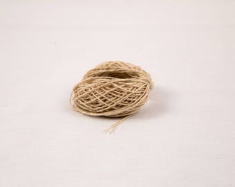 Natural Hemp Yarn 0.7 mm