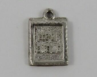 Holy Bible Sterling Silver Vintage Charm For Bracelet