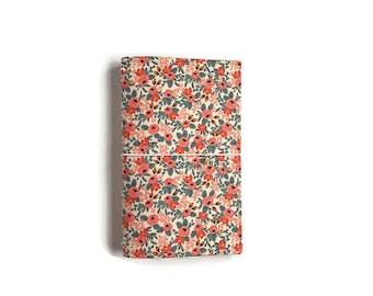 Rifle Paper Co Journal Floral Midori Fabric Notebook Cover, Gifts for Her, Gifts Under 50, Gifts for Grads, Gifts for Teachers, Midori QUINN