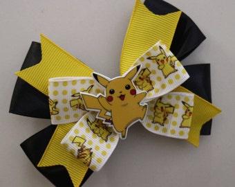 Pikachu Hairbow