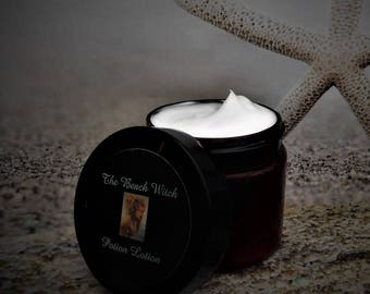 APHRODITE'S Potion Lotion, Body Butter, Romantic Body Lotion, Ritual Oil, Spell Oil, Witchcraft, Wicca, Pagan ~ 2 oz