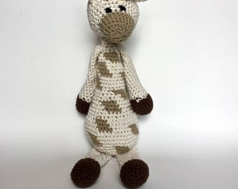Crochet Stuffed Giraffe | Plush Amigurumi Toy