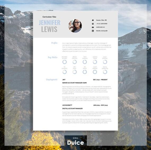 vitae resume template