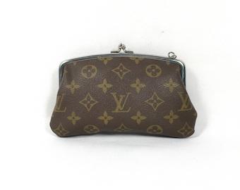 Authentic Louis Vuitton wallet. Louis Vuitton coin purse. Louis Vuitton purse. Louis Vuitton Monogram Wallet.