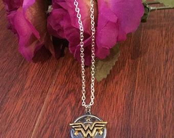 TEMPORARILY UNAVAILABLE Wonder Woman Necklace - DC - Justice League