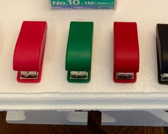 """Desk Stapler for the American Girl 18"""" Doll in 2 sizes and several colors."""