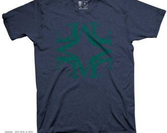 Mercyhurst Vintage MC University Tee - Navy Triblend T-shirt