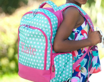 Hadley Monogrammed Backpack - Personalized Hadley Bloom Backpack - Hadley Bloom Backpack - Monogrammed Backpack - Personalized Backpack