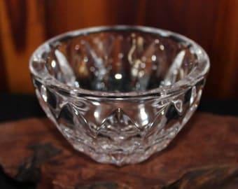Lead Crystal Cut Glass Bowl