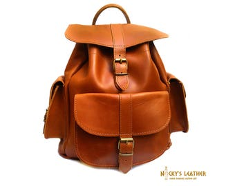 Leather BACKPACK  from 100% Full Grain Leather