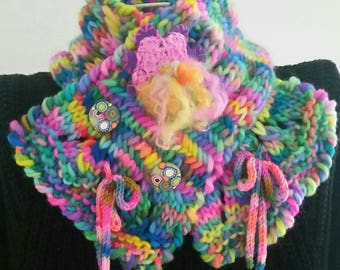 LOULOU neck scarf handmade