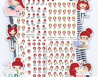 Izzy - Full Collection - Cute Kawaii Stickers