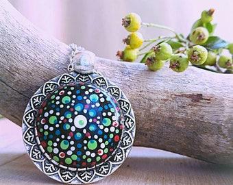 Mandala Pendant Colors