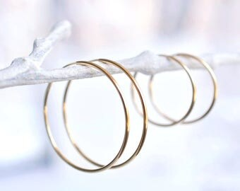 Gold Hoop Earrings, Hoop Earrings, Thin Hoop Earrings, Hoop Earrings Gold, Gold Hoops, Thin Hoop Earrings, Thin Gold Hoop, Gift for Her