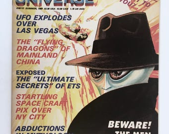 UFO Universe Magazine, Ultimate Secrets, Space Craft, Alien Abductions, Men in Black, Vintage 1980s UFO Mythology, Major Donald Keyhoe