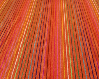 Mexican Rebozo, Mexican fabric by yard, Aztec fabric, Mexican Table Runner, Sarape, Serape, Mexican aztec fabric, Mexican Folk Fabric Supply