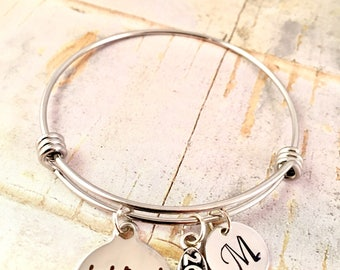 Runners Bracelet, Marathon Running bracelet, Running shoe, She believed she could, adjustable Stainless Steel Bangle, mothers day gift