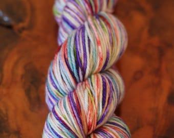 Hand Dyed OOAK, DK, Knitting, Crochet, Yarn