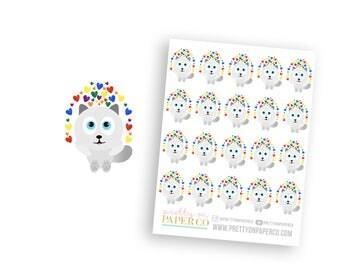Pride Baymax - Planner Stickers
