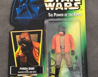 Star Wars The Power of the Force Ponda Baba Green Card 1996