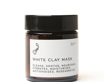 White Clay Face Milk Mask NEW RECIPE