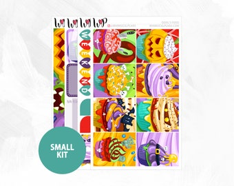 Devil's Food Small Kit | Matte Glossy Planner Stickers