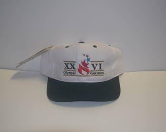 Vintage Summer Olympics Team USA Atlanta Snapback Deadstock