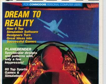 Compute!'s Gazette Magazine March 1989 Very Good