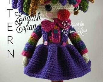 Sol - Amigurumi Doll Crochet Pattern PDF