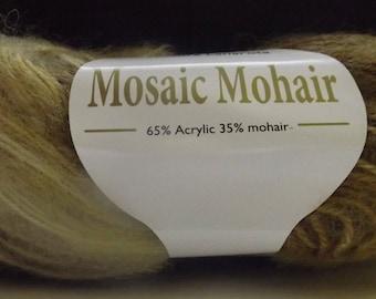 Filatura Lanarota Mosaic Mohair Colour #31198 Brown & Beige ~ 50 grams/ 215 yards ~ Knitting ~ Crochet