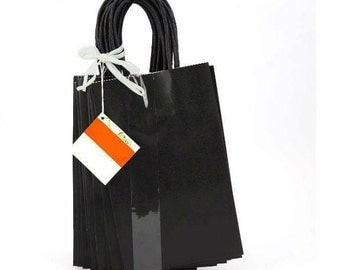 13 black gift/party bags