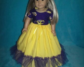 18 inch doll clothes,18 inch doll dress,American Girl doll clothes,AG doll clothes,Doll dress,Fashion Doll clothes,