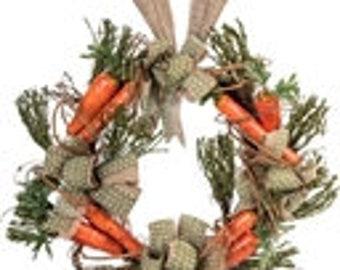 Carrott Bunny Ear Wreath