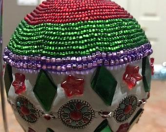 Double Diamond Ornament