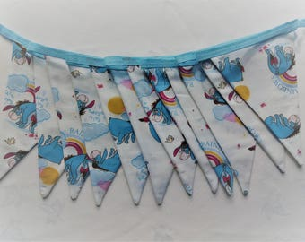 Eeyore double sided bunting.