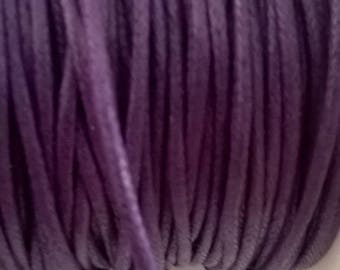 Coated cotton Purple 2 mm