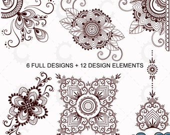 henna tattoo etsy studio. Black Bedroom Furniture Sets. Home Design Ideas