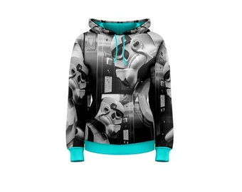 Women's Elevator Storm Pullover Hoodie - Multiple Accent Color Options - For Star Wars Fans