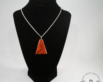 Ascension Padauk Wood Necklace