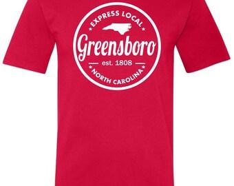 Express Local - Greensboro Tee