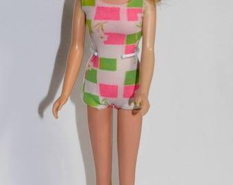 Vintage Barbie 1130 Francie Doll - Early 1966, Bendable Leg, Pre-TNT Body