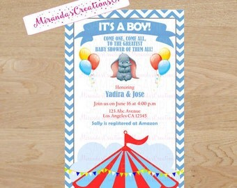 dumbo baby shower etsy