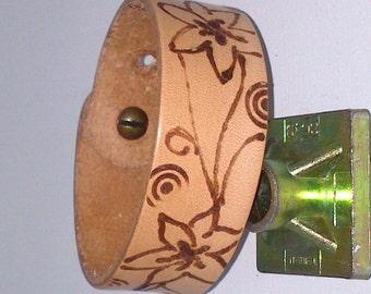 floral tannnage vegetable natural bracelet