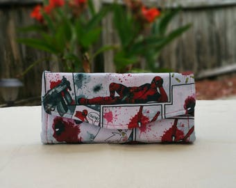 Deadpool Phone Clutch Wallet A