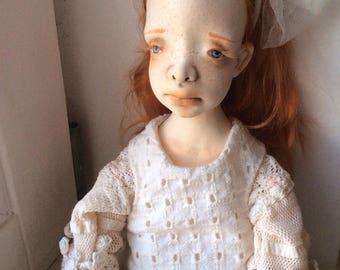 Art doll, Ooak art doll, Art clay doll, Black doll, Handmade doll